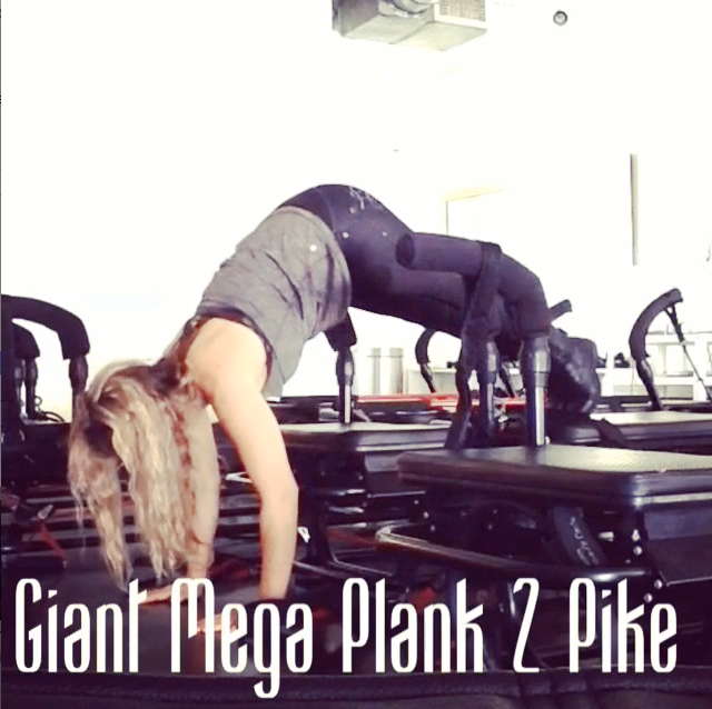 Giant Mega Plank to Pike
