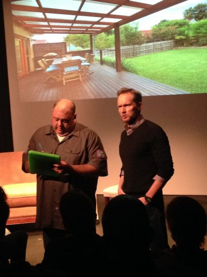 Tom Schanley & Troy Metcalf in Dead Pilots Society: The Hole, 5/23/16