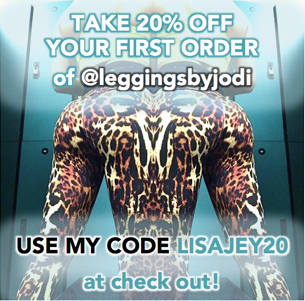 Get 20 PERCENT Off at Leggings By Jodi!