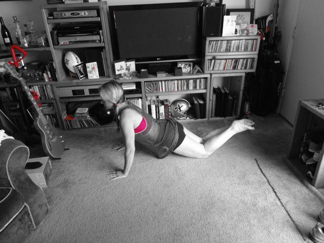Beginning Plank Hold